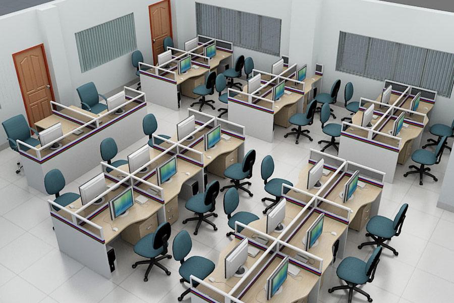 Top 4 mẫu bàn nhân viên có vách ngăn hot nhất trên thị trường hiện nay